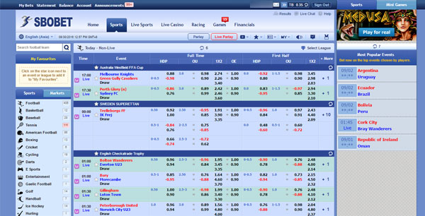 sbobet desktop Version sbo